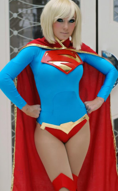 comic superman nigri cosplayer