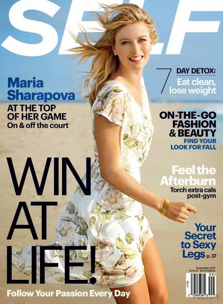 Maria Sharapova - Self Magazine, September 2014