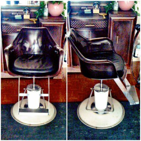 Mid-Century Austin Find: Vintage Salon Chairs - Mad For Mid-Century: November 2012