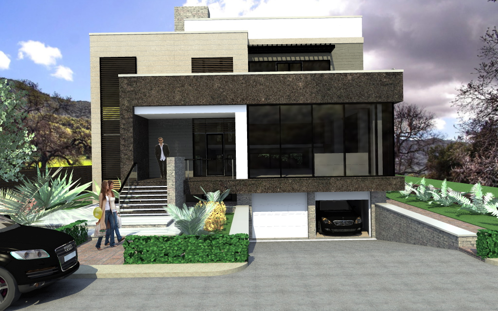 Arhiconstruct casa is06 for Case cu etaj si garaj