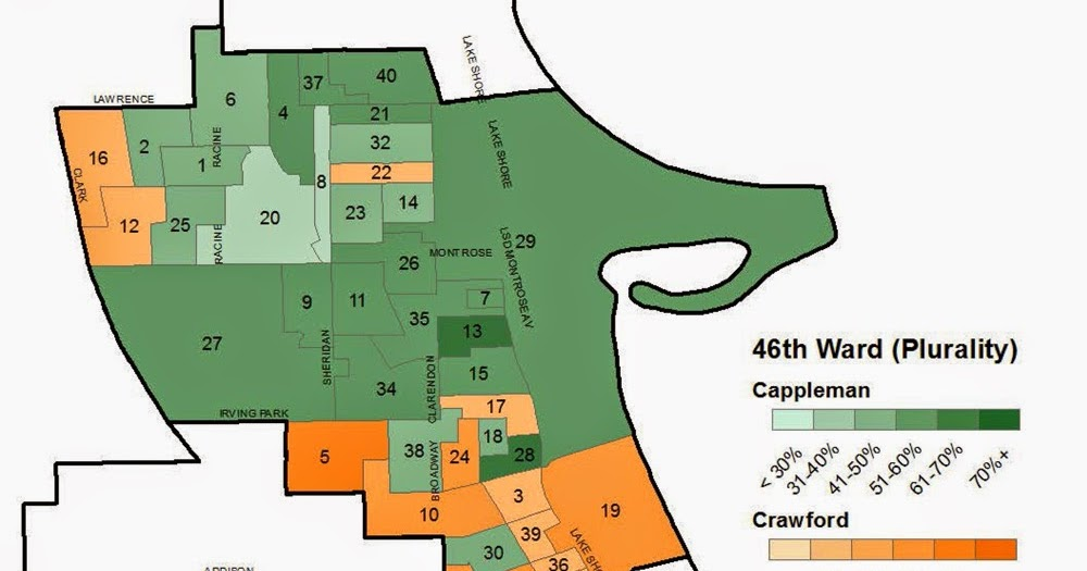 Uptown Update Mapping The Votes In The 46th Ward