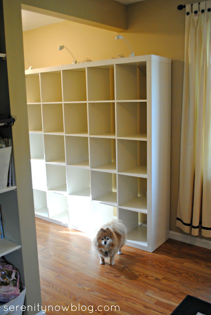Thrift Store IKEA Expedit, Serenity Now blog