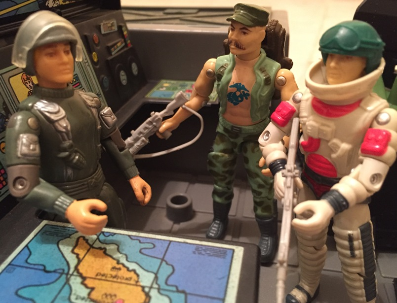 Hawk, MMS, 1982, Gung Ho, Ace, Skystriker, 1983 G.I. Joe HQ, , Battle Gear Pack #2