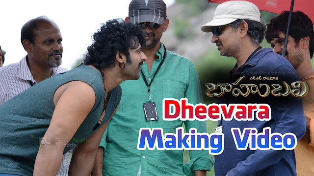 Dheevara Song Making Video | Baahubali | Prabhas | Tamannaah Bhatia