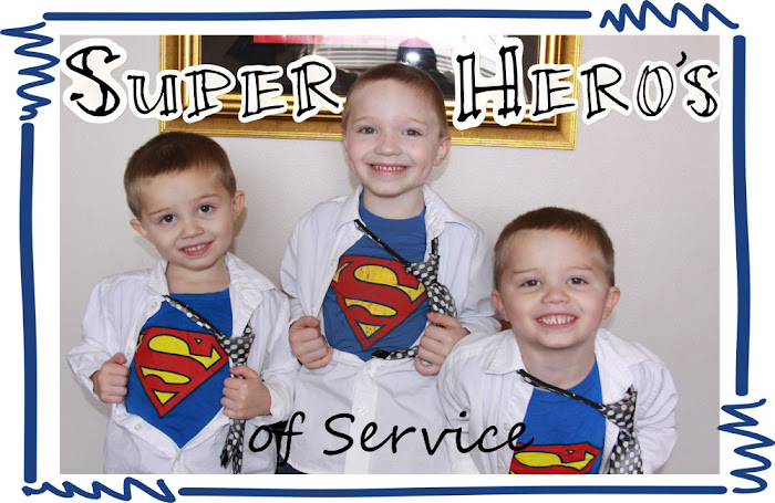 The Super Hero's of Service