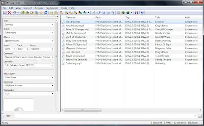 Fichier musical : les éditeurs de tags