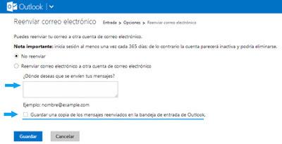 configuracion outlook correo