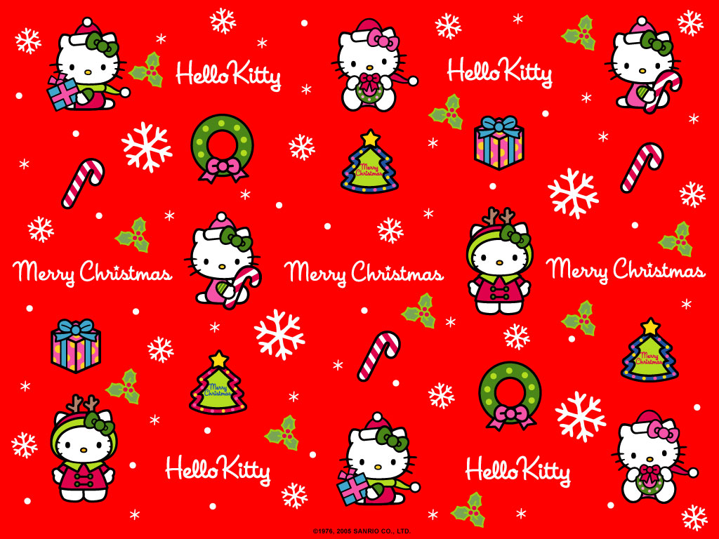 hello kitty christmas wallpaper funny amp amazing images