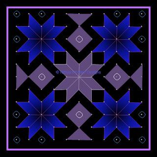 Kolam 22: Lines Kolam 11 x 11