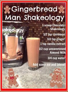 Holiday Survival, Holiday Accountability, Shakeology, Holiday Heath and Fitness, Healthy Holiday, 21 Day Fix, Successfully Fit,  Meal Planning, Cize, PiYo, 21 Day Fix, Lisa Decker, Gingerbread Man Shakeology