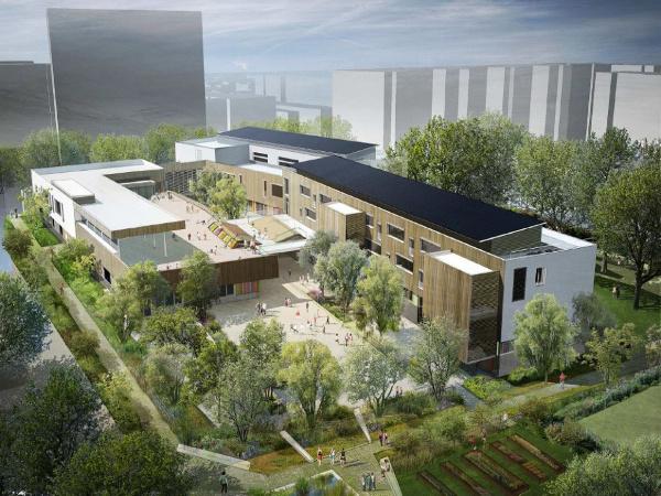 Escuela Montreuil, en París