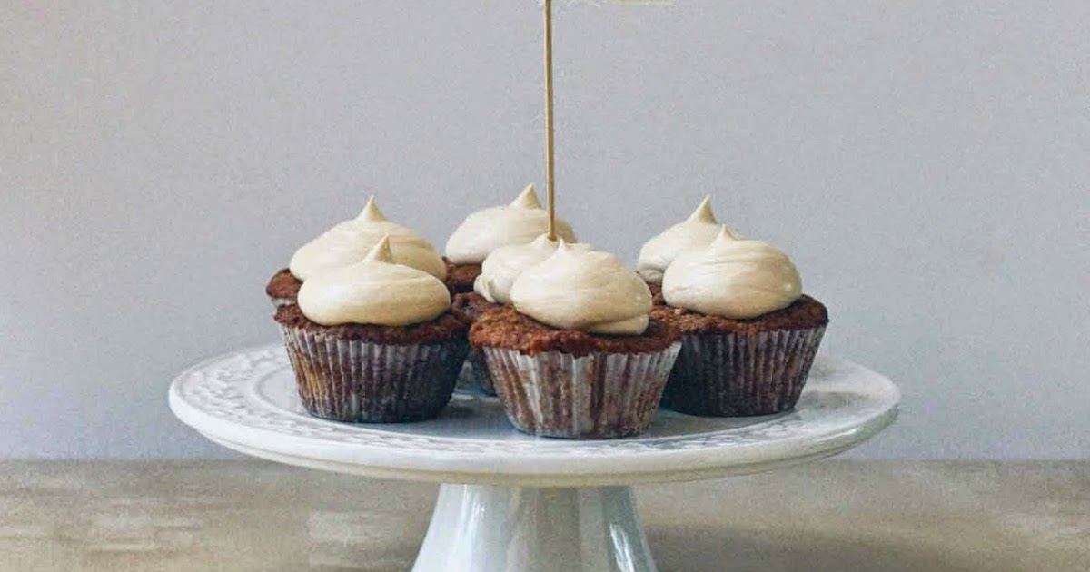 Apple Pie Cupcakes with Salted Caramel Whipped Cream