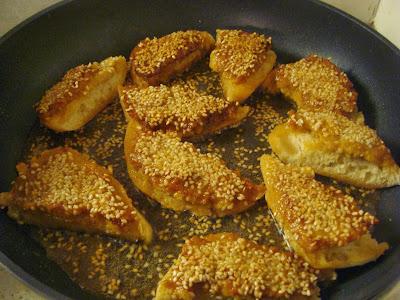 gluten free prawn toast