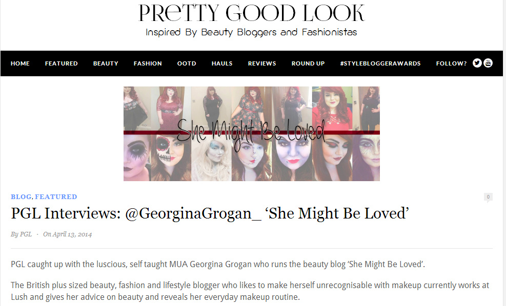 Georgina Grogan MUA interview, Sheffield blogger,