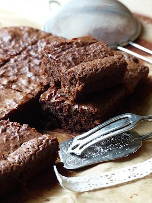 Brownie aux pruneaux