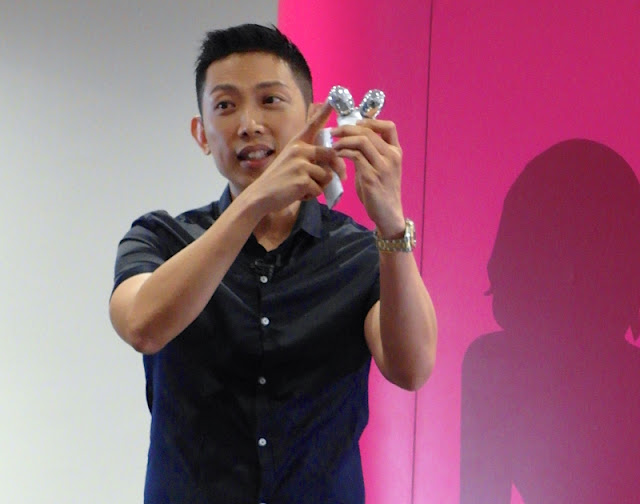Panasonic omy.sg Beauty Workshop with Bryan Gan 女人我最大 Facial Roller EH-SP32 lunarrive