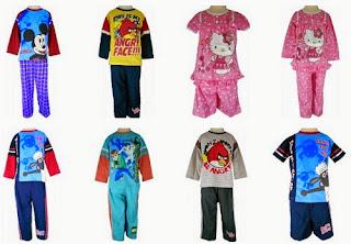 Grosir Baju Tidur Anak Murah
