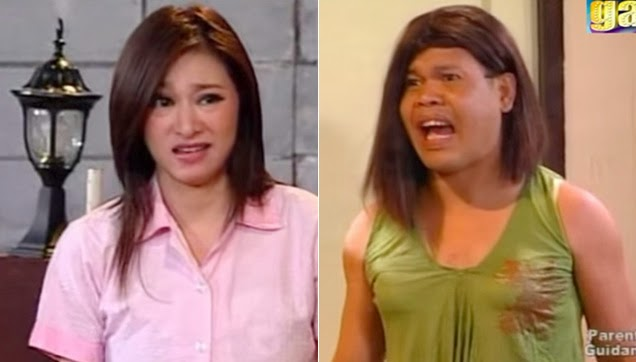 Rufa Mae Quinto and Diego Llorico arguing on what happened on the child.