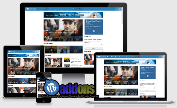 Free Download Powermag Magazine Wordpress Themes By Kentooz