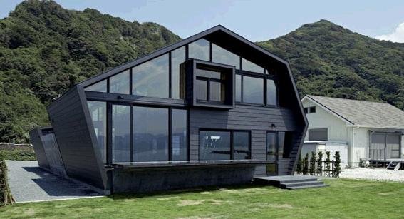 House Design Moderns Minimalist In Japan Original Geometric