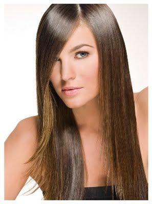 rambut lurus