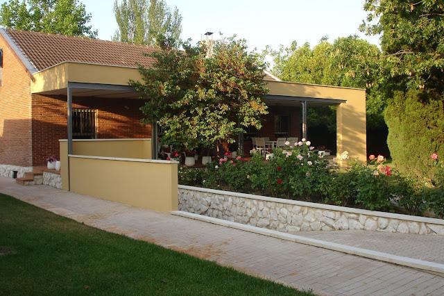 Marq gzgz marq proyectos porche en vivienda - Que es un porche de una casa ...