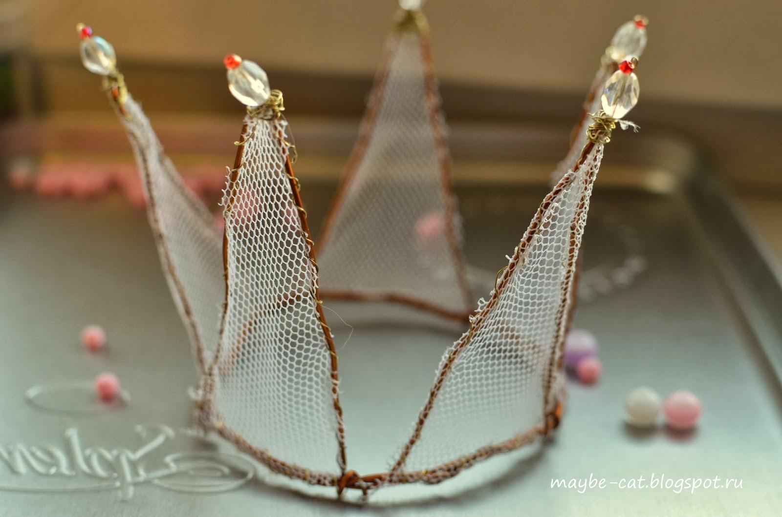 Как сделать корону из проволоки фото 663