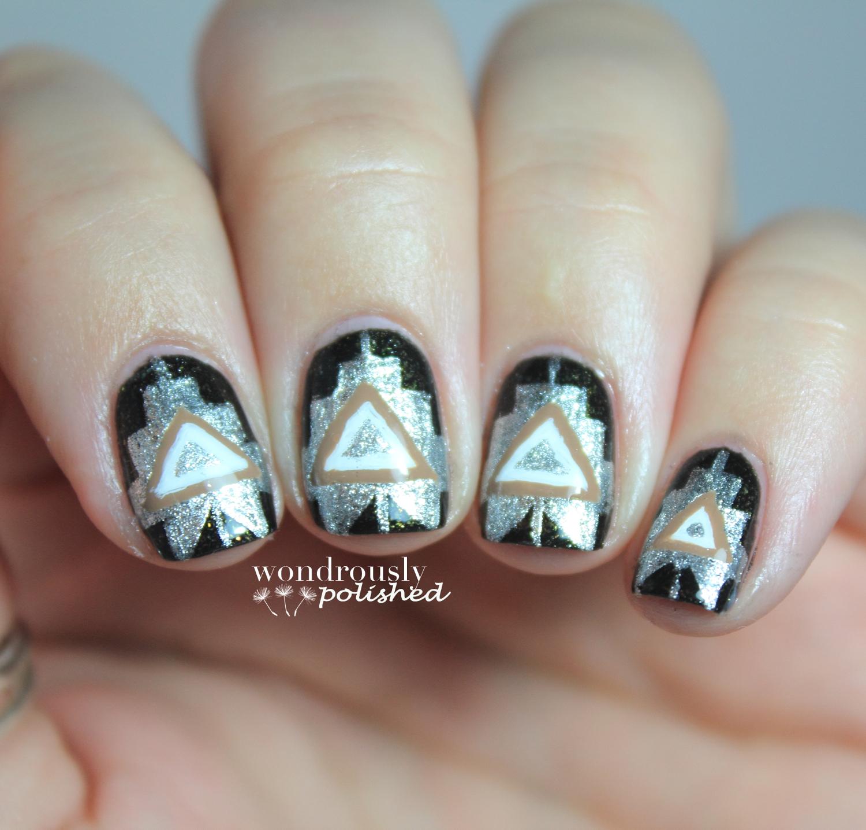 Wondrously Polished 31 Day Nail Art Challenge Day 9 Metallic