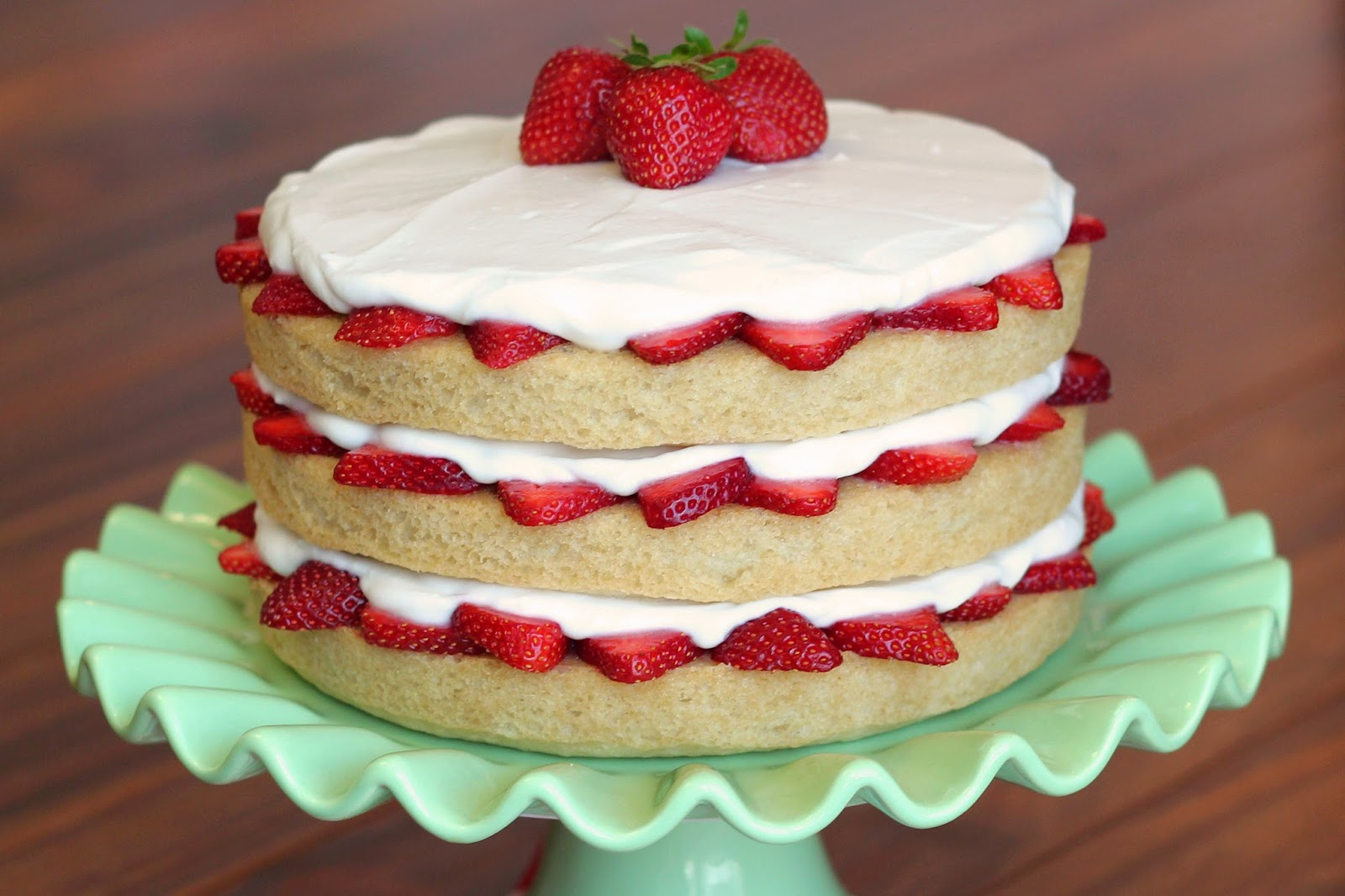Whole Foods Strawberry Cream Cake