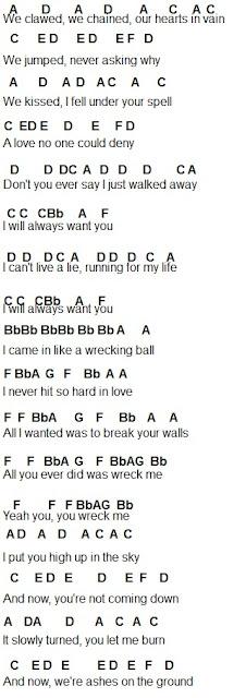 Wrecking Ball - Miley Cyrus XD