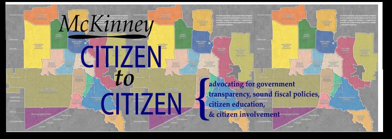 McKinney Citizen to Citizen