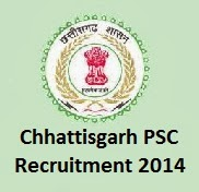 CGPSC Recruitment 2014