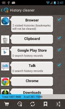 1Tap Cleaner Pro android apk - Screenshoot