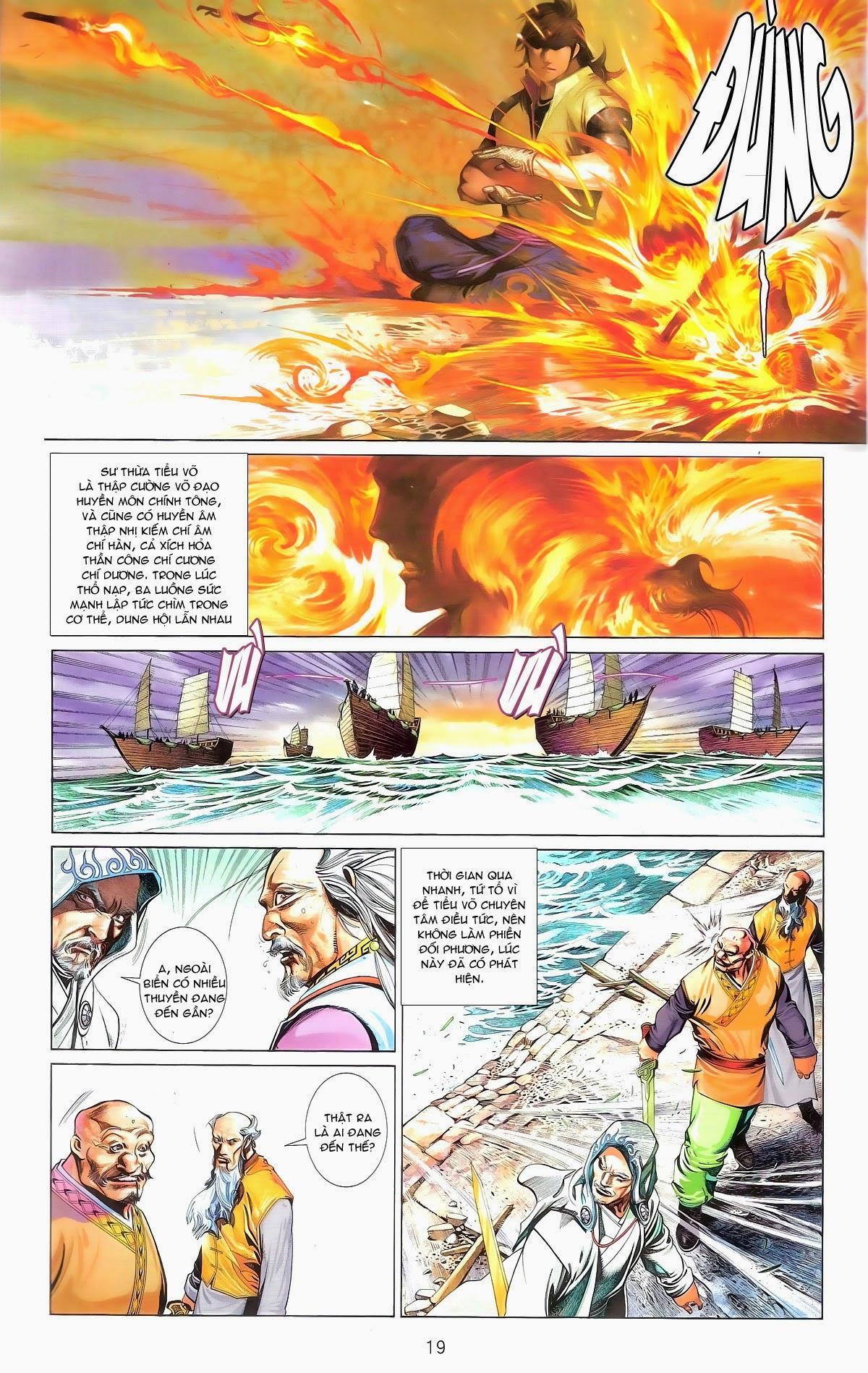 Phong Vân chap 674 – End Trang 21 - Mangak.info