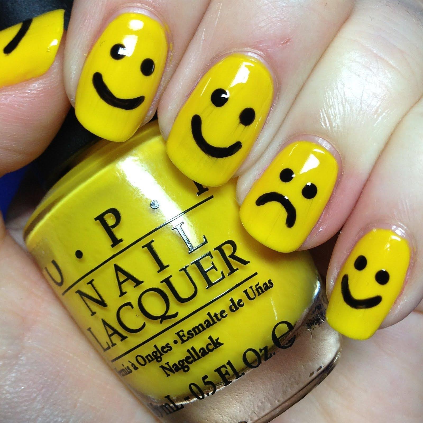 Yellow Nail art and Manicure – 30 beautiful ideas | Nail art ...