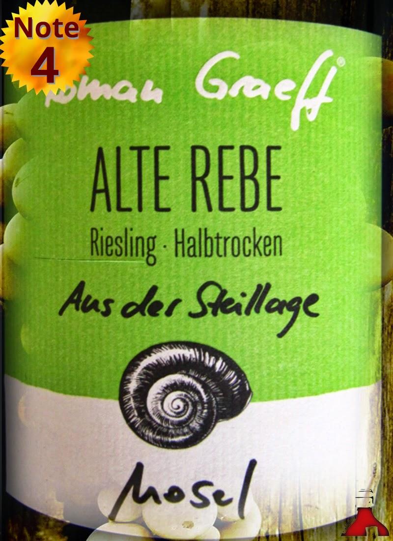 Roman Graeff Riesling Alte Rebe aus der Steillage Mosel 2013