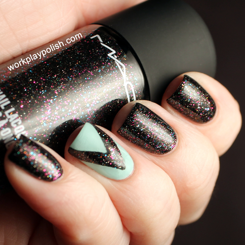 MAC All that Glitters and In the Limelight (work / play / polish)