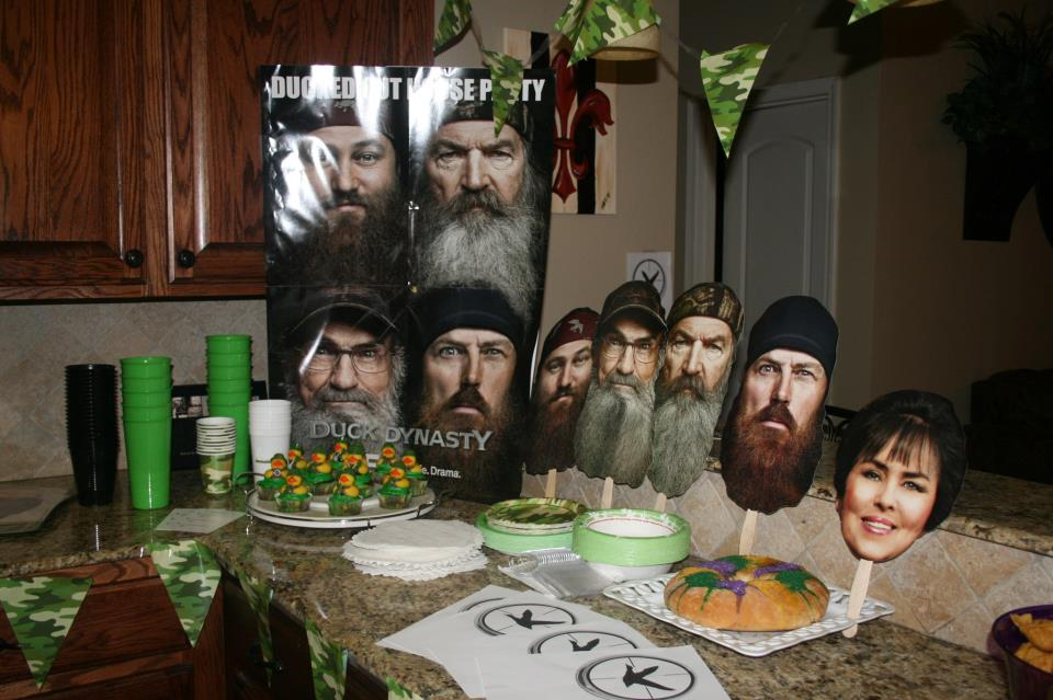 one of only 1000 people to receive the Duck Dynasty party pack. Woot