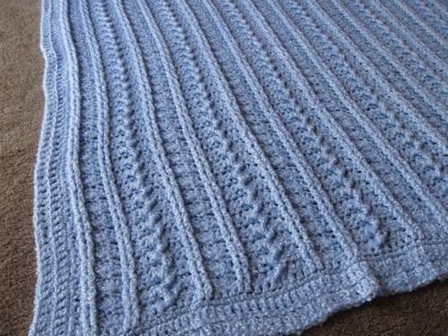 Aldi Knitting Pattern Baby Blanket : Crochet & Knitting Stitch: April 2013