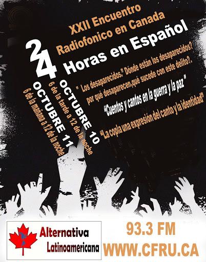 XXII ENCUENTRO DE RADIOS COMUNITARIAS DE CANADA