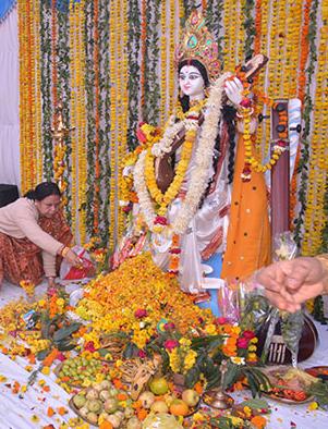 Sarasvati Poojan