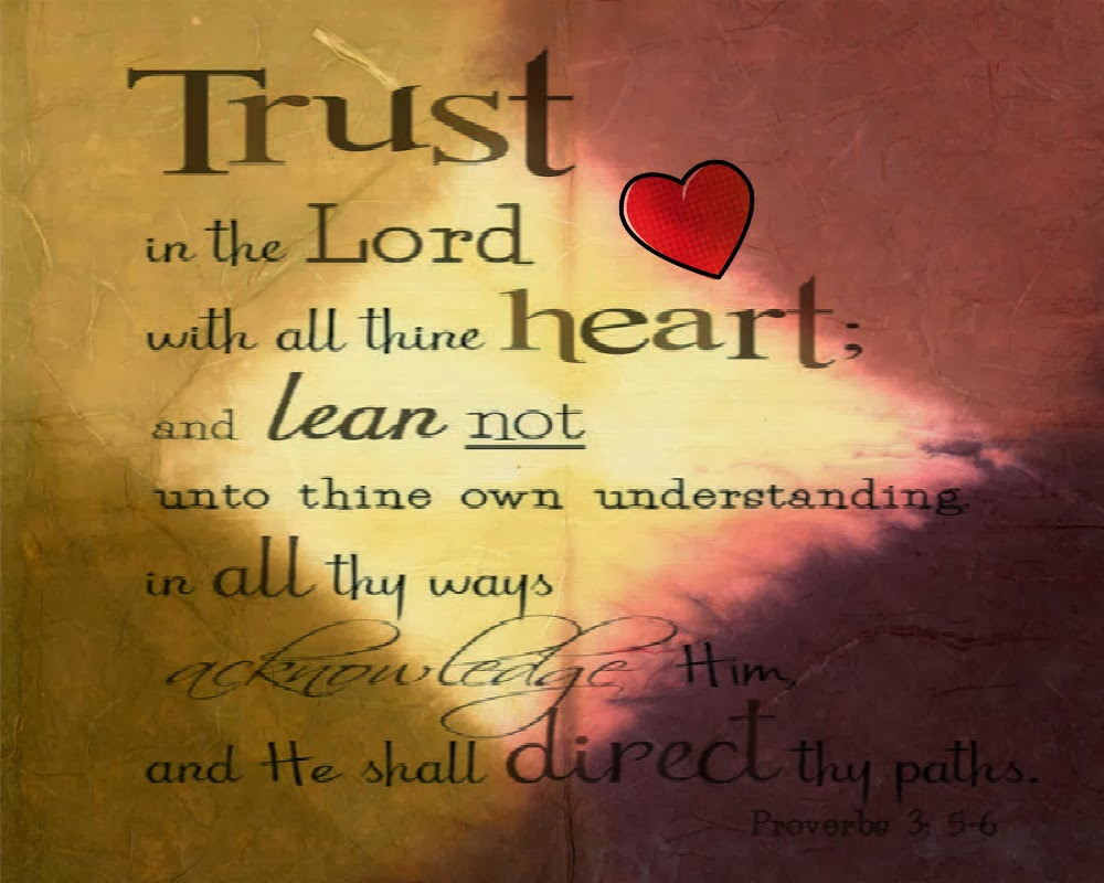 Trust in the LORD Bookmark 2