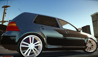 Volkswagen Golf Para GTA IV