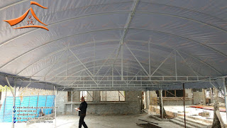 Our client have requested for setup halfmoon canopy at Terenganu with the size of 22' x 73'.  For more information you may call / Whatsapp / SMS to 0169749366 (Mr. Prem)
