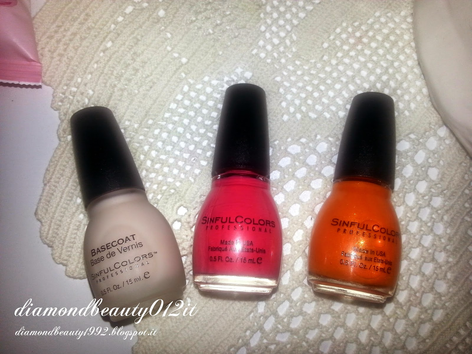 base coat sinful colors