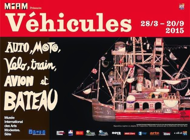 musee international des arts modestes - miam sete - exposition véhicule avions art outsider