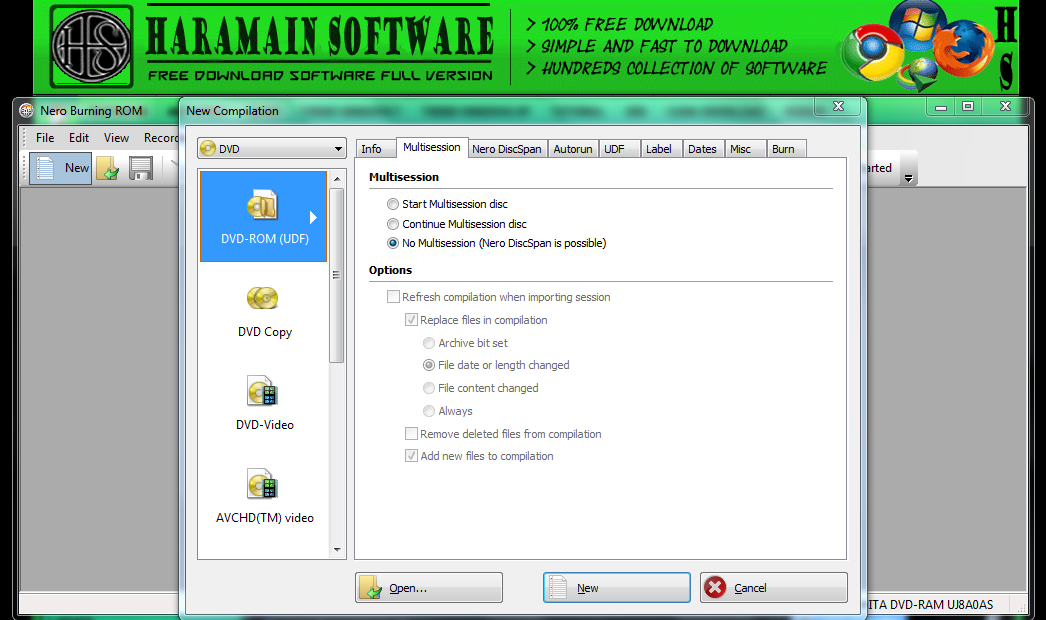 Nero Burning ROM 2018 Crack With Serial Number Free Download
