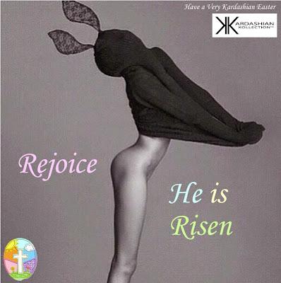 Kendall Jenner Kardashian Easter card hot funny