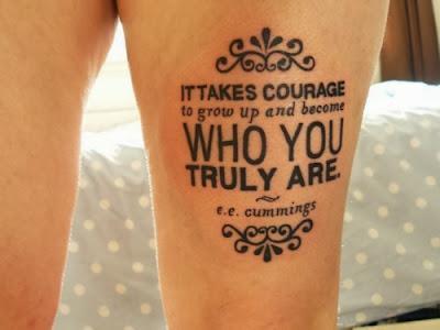 Typo Word Tattoo