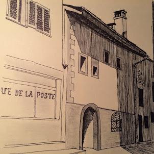 Le caveau, ancien Café de la Poste